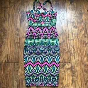 Stunning summer dress amazing colors